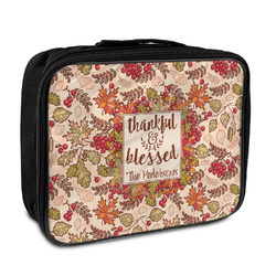 Thankful & Blessed Insulated Lunch Bag (Personalized)