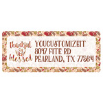 Thankful & Blessed Return Address Labels (Personalized)
