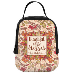 Thankful & Blessed Neoprene Lunch Tote (Personalized)