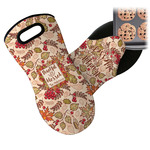 Thankful & Blessed Neoprene Oven Mitt (Personalized)