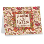 Thankful & Blessed Note cards (Personalized)
