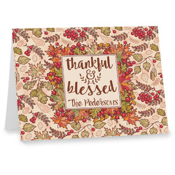Thankful & Blessed Notecards (Personalized)