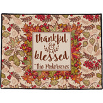 Thankful & Blessed Door Mat (Personalized)