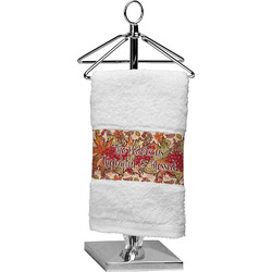Thankful & Blessed Finger Tip Towel (Personalized)