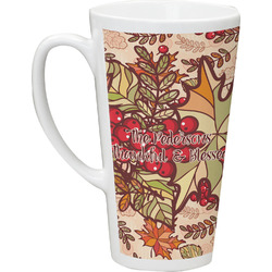 Thankful & Blessed Latte Mug (Personalized)