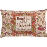 Thankful & Blessed Pillow Case (Personalized)