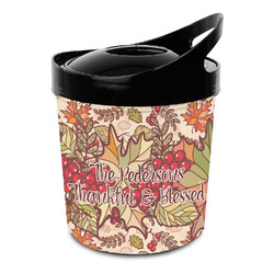 Thankful & Blessed Plastic Ice Bucket (Personalized)