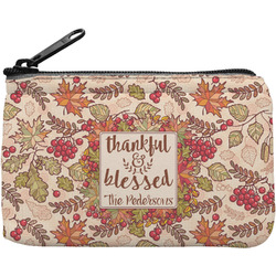 Thankful & Blessed Rectangular Coin Purse (Personalized)