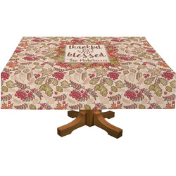 Thankful & Blessed Tablecloth (Personalized)