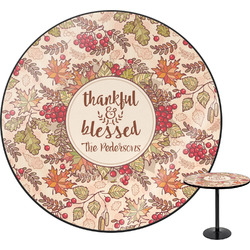 Thankful & Blessed Round Table (Personalized)