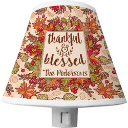 Thankful & Blessed Shade Night Light (Personalized)