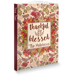 Thankful & Blessed Softbound Notebook (Personalized)