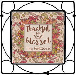Thankful & Blessed Trivet (Personalized)