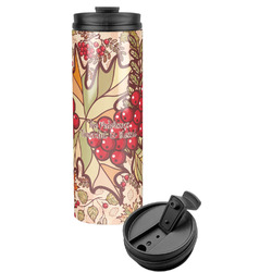 Thankful & Blessed Stainless Steel Travel Tumbler (Personalized)
