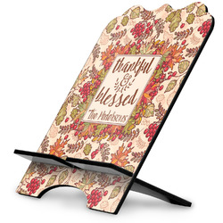 Thankful & Blessed Stylized Tablet Stand (Personalized)