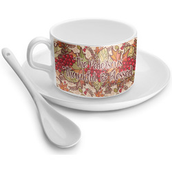 Thankful & Blessed Tea Cups (Personalized)