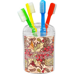 Thankful & Blessed Toothbrush Holder (Personalized)