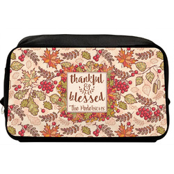 Thankful & Blessed Toiletry Bag / Dopp Kit (Personalized)