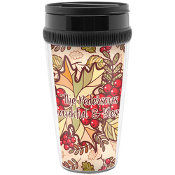 Thankful & Blessed Travel Mugs (Personalized)