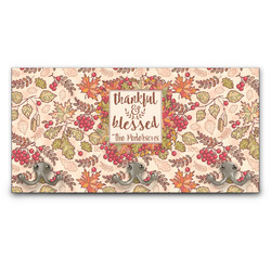 Thankful & Blessed Wall Mounted Coat Rack (Personalized)