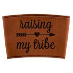 Tribe Quotes Leatherette Mug Sleeve (Personalized)