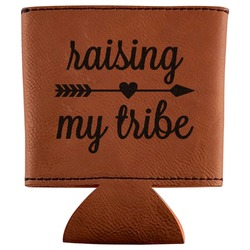 Tribe Quotes Leatherette Can Sleeve (Personalized)