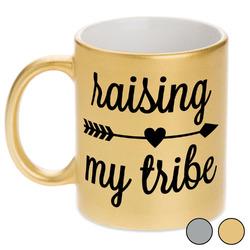 Tribe Quotes Metallic Mug