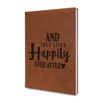 Wedding Quotes and Sayings Leatherette Journal (Personalized)