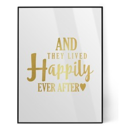 Wedding Quotes and Sayings Foil Print (Personalized)