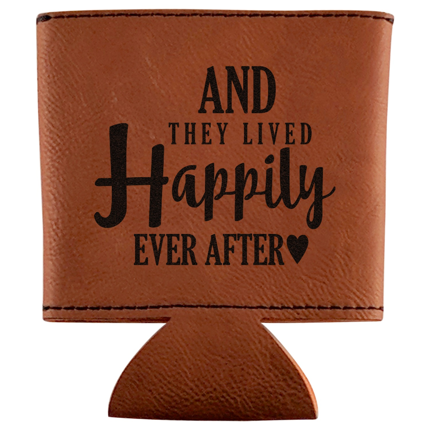 Wedding Quotes And Sayings Leatherette Can Sleeve Personalized