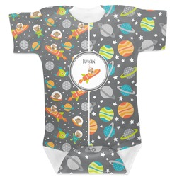 Space Explorer Baby Bodysuit (Personalized)