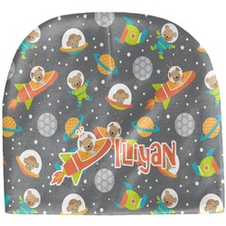 Space Explorer Baby Hat (Beanie) (Personalized)