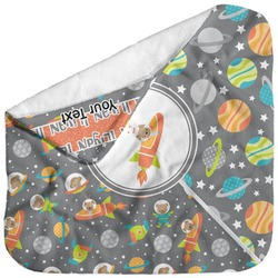 Space Explorer Baby Hooded Towel (Personalized)