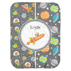 Space Explorer Baby Swaddling Blanket (Personalized)
