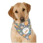Space Explorer Dog Bandana Scarf w/ Name or Text