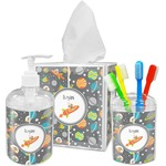 Space Explorer Acrylic Bathroom Accessories Set w/ Name or Text
