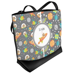 Space Explorer Beach Tote Bag (Personalized)