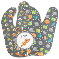 Space Explorer Baby Bib w/ Name or Text