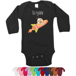Space Explorer Long Sleeves Bodysuit - 12 Colors (Personalized)