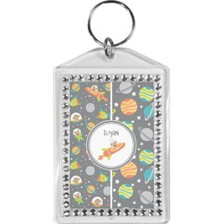 Space Explorer Bling Keychain (Personalized)
