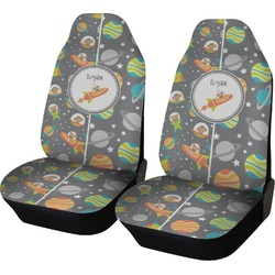 Space Explorer Car Seat Covers (Set of Two) (Personalized)