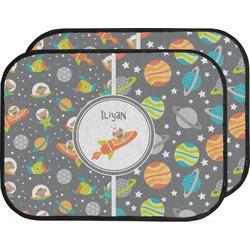 Space Explorer Car Floor Mats (Back Seat) (Personalized)