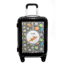 Space Explorer Carry On Hard Shell Suitcase (Personalized)