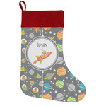 Space Explorer Holiday Stocking w/ Name or Text