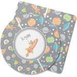 Space Explorer Rubber Backed Coaster (Personalized)