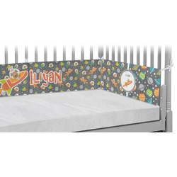 Space Explorer Crib Bumper Pads (Personalized)