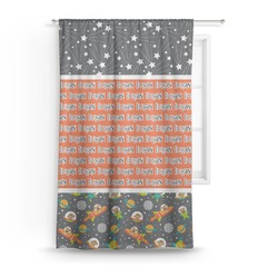 Space Explorer Curtain (Personalized)