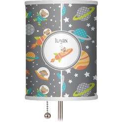 """Space Explorer 7"""" Drum Lamp Shade (Personalized)"""