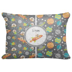 "Space Explorer Decorative Baby Pillowcase - 16""x12"" (Personalized)"