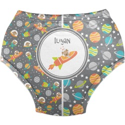 Space Explorer Diaper Cover (Personalized)